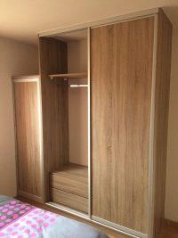 aménagement de placards bois