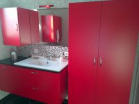 aménagement de salle de bain stratifié