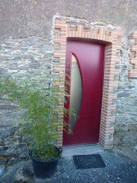 Porte entrée alu_BelM