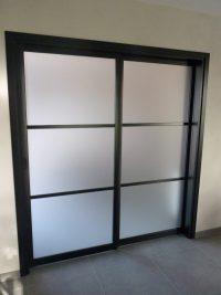 porte double intérieure coulissante_Neves